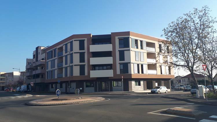 Immeuble Le Pontet - Riorges - Extérieur 2