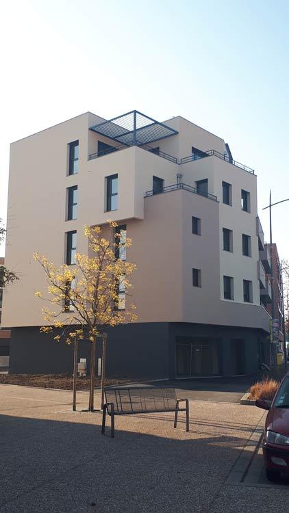 Immeuble Le Pontet Riorges Keops Architecture Ext3