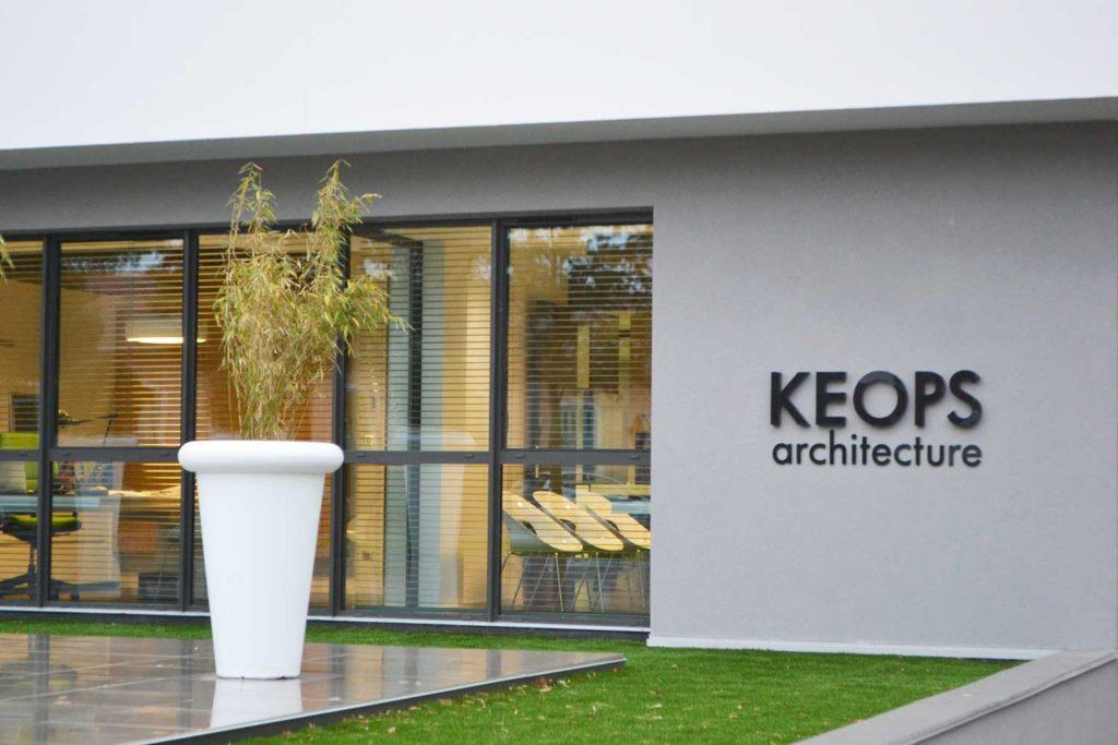 Keops architecture agence d'architectes Roanne