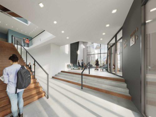 Centre Universitaire Roanne Keops Intérieur 2