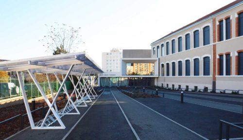 Collège Jules Ferry Roanne Keops extérieur 2