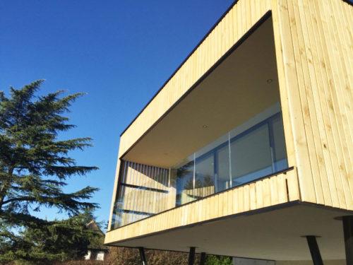 Maison architecte moderne