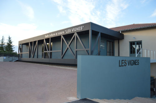 Salle de réception Les Vignes Perreux