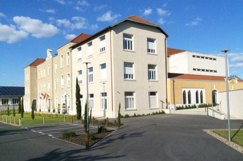 Restructuration Collège Saint Paul Roanne