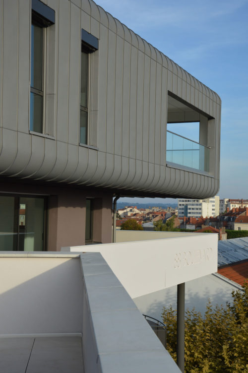 Immeuble Keops architecture Roanne