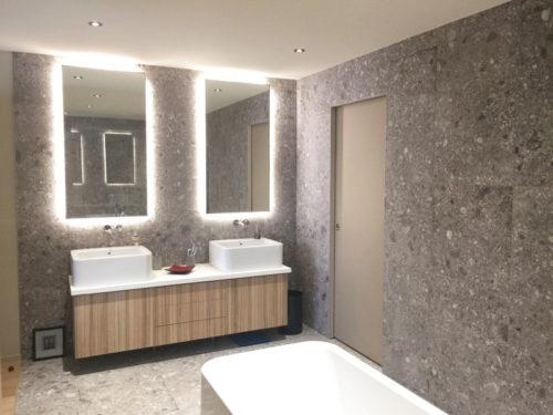 Salle de bain maison individuelle architecte Keops Architecture