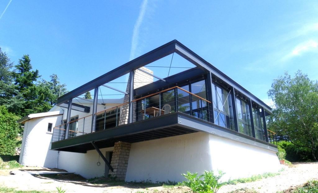 Maison architecte contemporaine Rhône