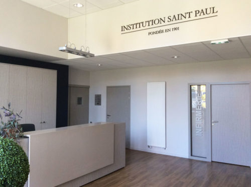 Hall d'accueil Collège Saint Paul Roanne