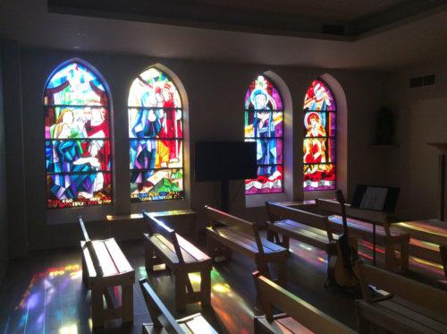 Salle de prières Collège Saint Paul