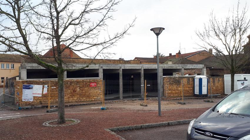 Projet en cours - Construction d'une pharmacie à Charlieu