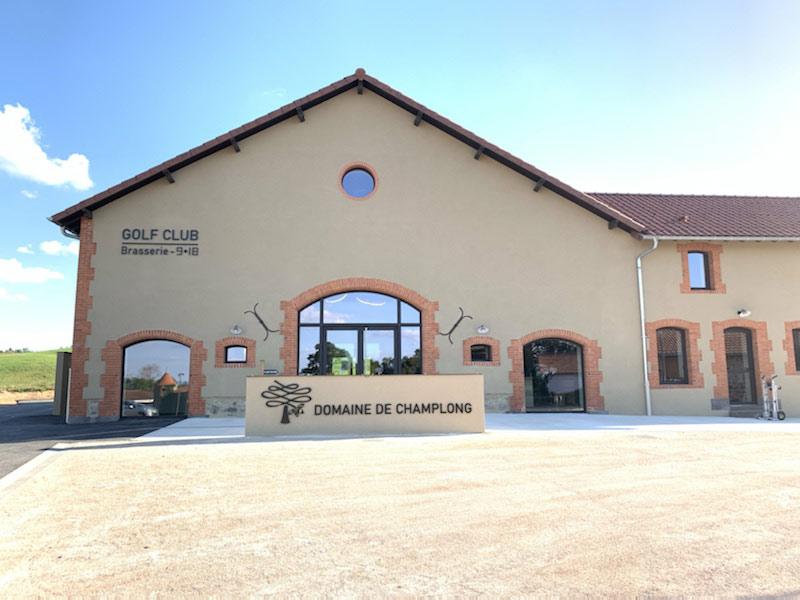 Terminé - Extérieur Club House, Champlong, Villerest